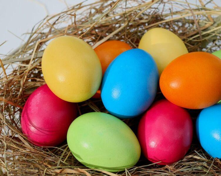 Пасхальные яйца с рисунком: 4 узора на яйцах к Пасхе