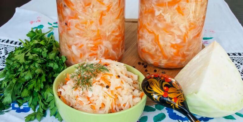 Квашеная капуста — 14 рецептов приготовления в домашних условиях