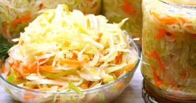 Как засолить хрустящую капусту в домашних условиях–просто и вкусно?