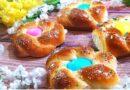 Пасхальные булочки с изюмом из дрожжевого теста